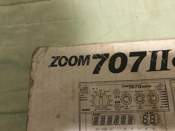 Pedaleira P/ Guitarra Zoom 707 Ii Caixa Original E Manual