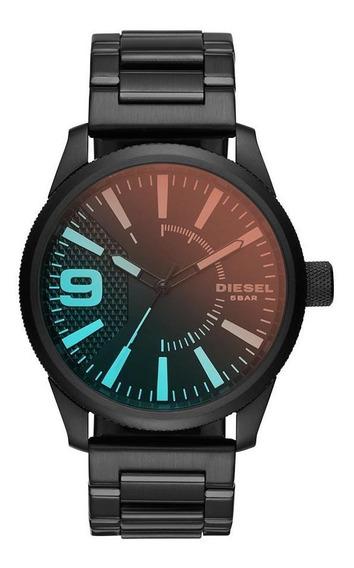 Relógio Diesel Masculino Basic Rasp Preto - Dz1844/1pn
