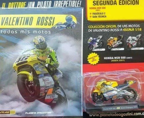 Coleccion Valentino Rossi Todas Mis Motos N°2 Honda Nsr 500