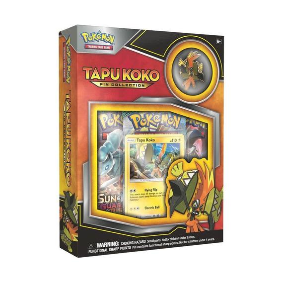 Coleccion Cartas Tarjetas Tapu Koko Pin Collection Pokemon