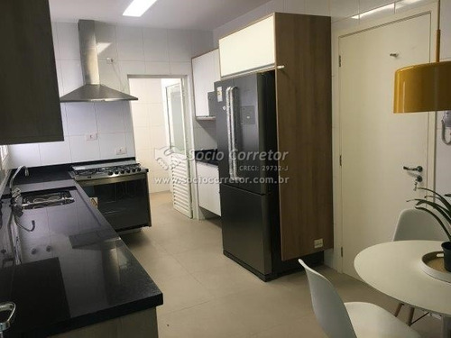 Imagem 1 de 15 de Apto 162m 03 Suites Cond.quartier Vila Rosalia Guarulhos - Apartamento A Venda No Bairro Vila Rosália - Guarulhos, Sp - Sc00564