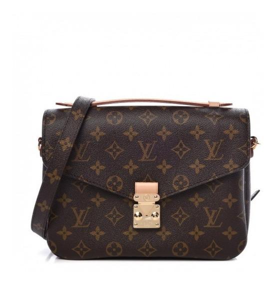 Pochette Metis Monogram Louis Vuitton Couro C Código Premium