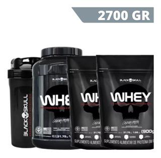 Whey 3kg Suplemento Isolado Concentrado Hidrolisado Black Sk