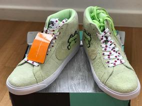 Nike Sb Zoom Blazer Mid Qs Frog