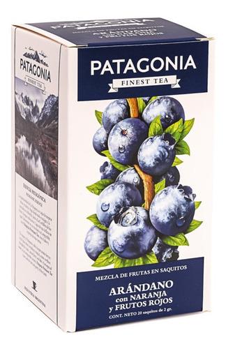 Te Patagonia Premium X 20 Saq. Arándano Fr. Rojos Naranja