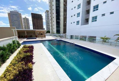 Apartamento Com 3 Dormitórios À Venda, 98 M² Por R$ 650.000,00 - Tirol - Natal/rn - Ap0050
