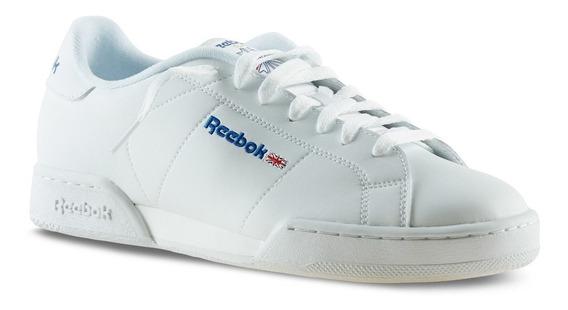 Tenis Reebok Npc Classico Blanco 100% Original