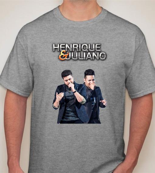 Camiseta Ou Baby Look Henrique E Juliano
