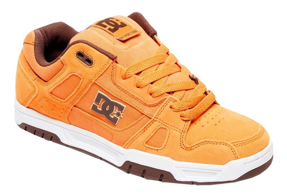 Calzado Para Caballero Dc Shoes Stag Color Mostaza