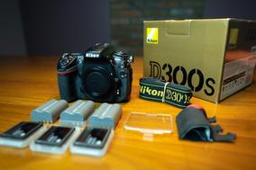 Nikon D300s + 2 Bat. +3 Cartão 32g(à Vista 2.150)