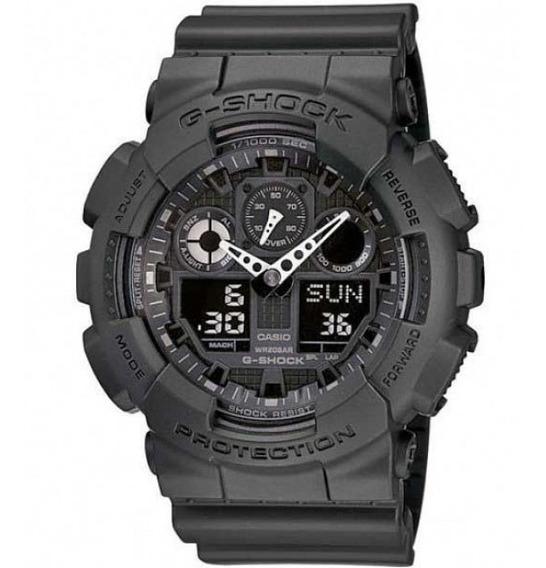 Relógio Casio G Shock Ga 100 -1a1 Envio Imediato Nf 12x