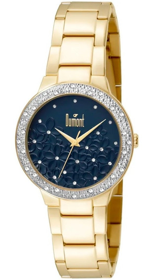 Relógio Dumont Feminino Fashion Dourado Du2039ltu/4a