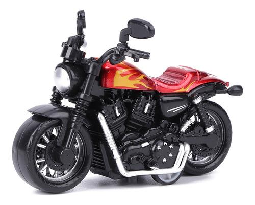Liga Moto Toy Modelo Altamente Simulação Crianças Kid Pul