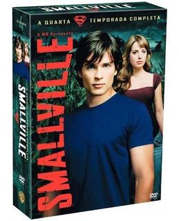 Smallville 4ª Temporada Completa - Box Original - Lacrado