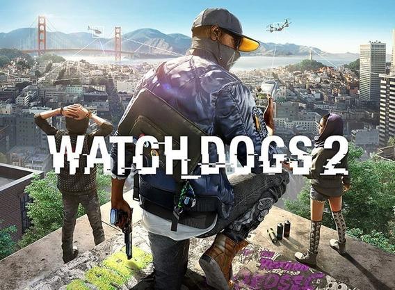 Watch Dogs 2 Pc + Qualquer Jogo A Sua Escolha