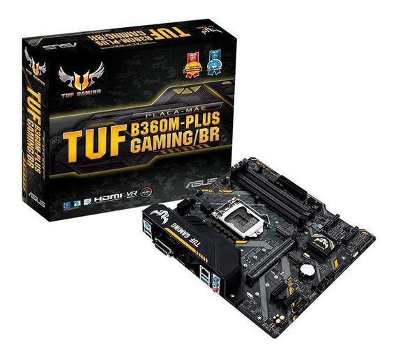 Placa Mae Asus Tuf B360m-plus Gaming/br Ddr4 Socket Lga1151