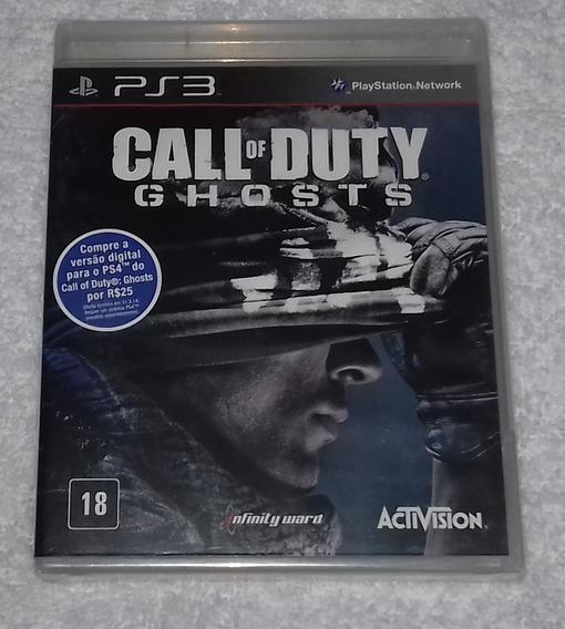 Call Of Duty Ghosts Portugues Lacrado Ps3 * Leia