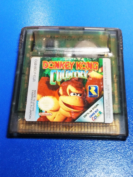 Cartucho Donkey Kong Country Para Nintendo Game Boy Color