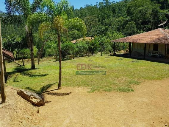 Chácara Com 2 Dormitórios À Venda, 2000 M² Por R$ 180.000 - Zona Rural - Monteiro Lobato/sp - Ch0096