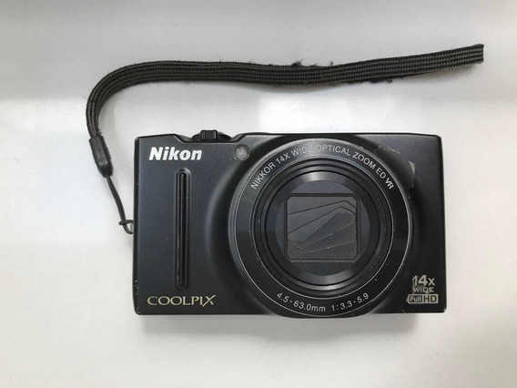 Câmera Nikon Coolpix S8200 (não Liga)