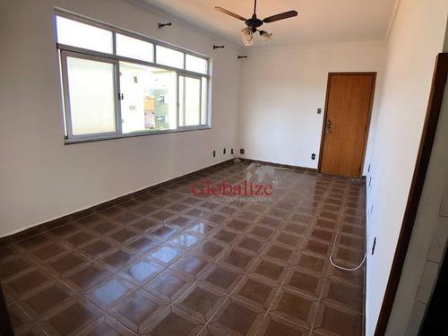 Apartamento À Venda, 140 M² Por R$ 390.000,00 - Aparecida - Santos/sp - Ap0445