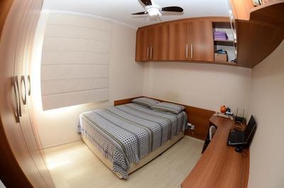 Apartamento Para Venda, Parque Dos Pássaros, 2 Dormitórios, 1 Banheiro, 2 Vagas - Ap 1185
