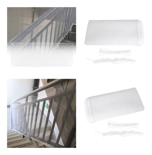 Imagen 1 de 9 de 2x Red De Protección Para Balcones Y Escaleras Para Bebés