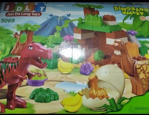 Juego De Bloque Armable De Dinosaurios
