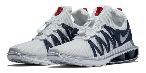 Zapatillas Hombre Nike Shox Gravity Blancas