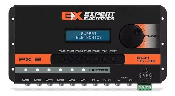Crossover Digital Banda Processador Áudio 6 Vias Expert Px-2