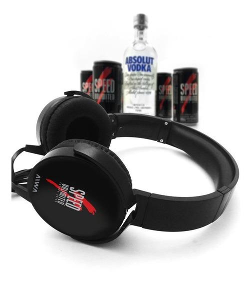 Pack De 6 Latas Speed + Auricular Aiwa + Absolut Vodka