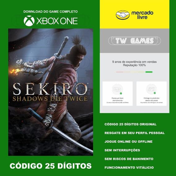 Sekiro Shadows Die Twice 25 Digitos Xbox One Fat S X