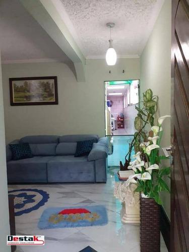 Imagem 1 de 16 de Casa, Santo André, 108 Metros! - Ca0366