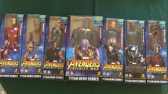 Figuras Thanos Hulk Avenger Infinity Wars Original 30 Cm