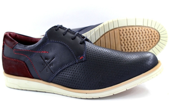 Kit 2 Sapato Masculino Oxford Couro Lancamento Tchwm Shoes