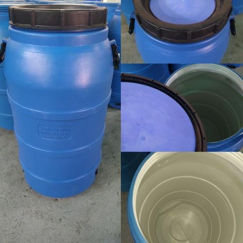 Barril Envase Pipote Plástico 70 Litros Con Tapa Nuevo