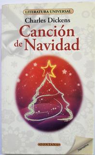 Libro. Canción De Navidad. Charles Dickens Clásicos Fontana.