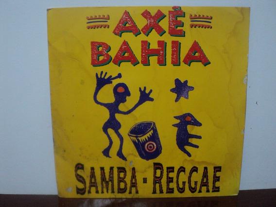 Lp Axé Bahia Samba Reggae ( 1992 ) Raro