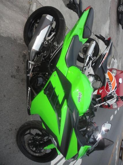 Kawasaki Ninja 300r 2015 Verde