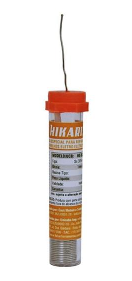 Estanho Em Fio Hs-30 Para Solda Tubo 1mm 25g-hikari-21s002