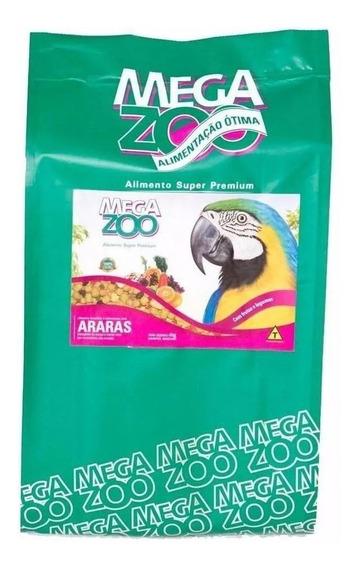 Megazoo Araras Frutas E Legumes 4kg