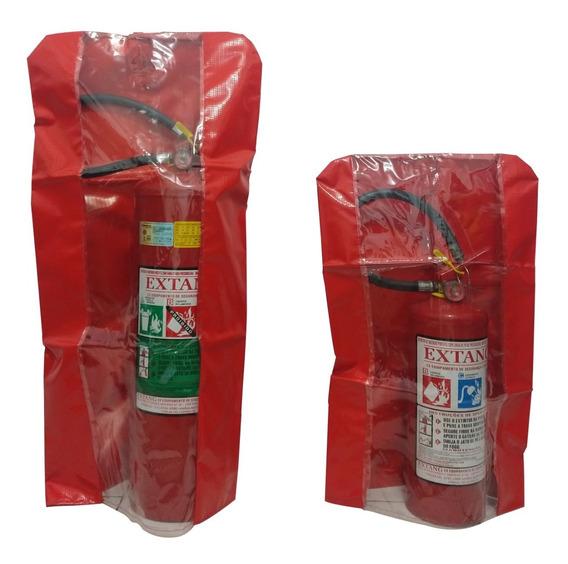Capa Para Extintor Em Bagum - P (pqs 4 E 8kg)