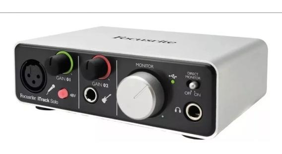 Interface De Audio Focusrite Itrack Solo Nova