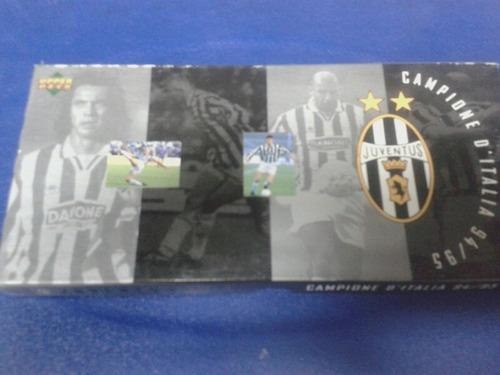 Box Tarjetas Upper Deck Juventus/box Panini R.baggio