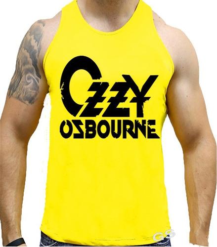 Imagem 1 de 1 de Camiseta Regata Com Estampa Personalizada Czzy Osbourne