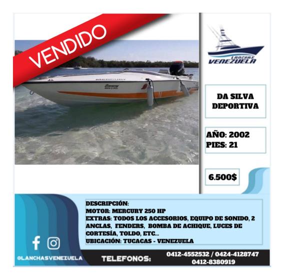 Lancha Da Silva Deportiva 21 Lv482