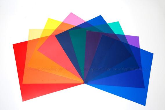 Gel Gelatina Colorido Tamanho 30cm X 30cm