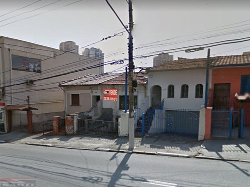 Casa Térrea - Terreno -  Rua Alfredo Pujol , Ótima Oferta - St10674