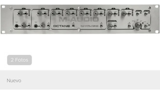 Preamplificador Adat M Audio Octane