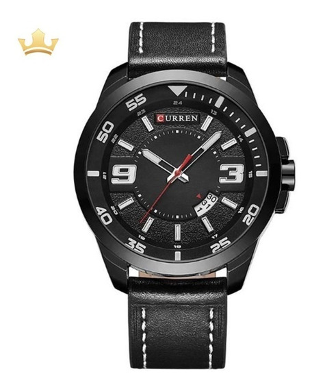 Relógio Masculino Curren Analógico 8213 Com Nf